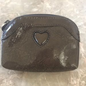 Brighton Patent Leather Brown Coin Pouch NWOT